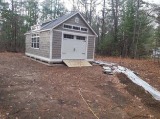 SHED PREP (Site work for a New Shed)